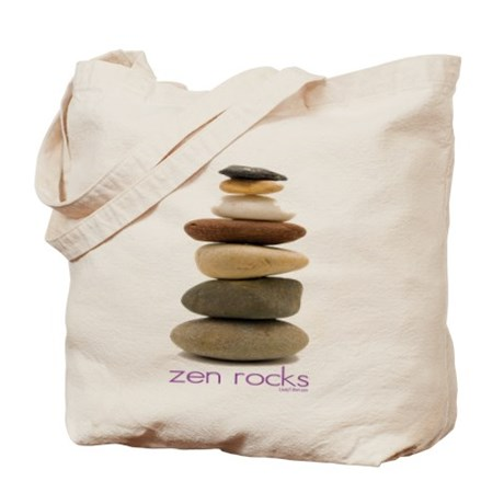 Zen Rocks Tote Bag by Cafepress